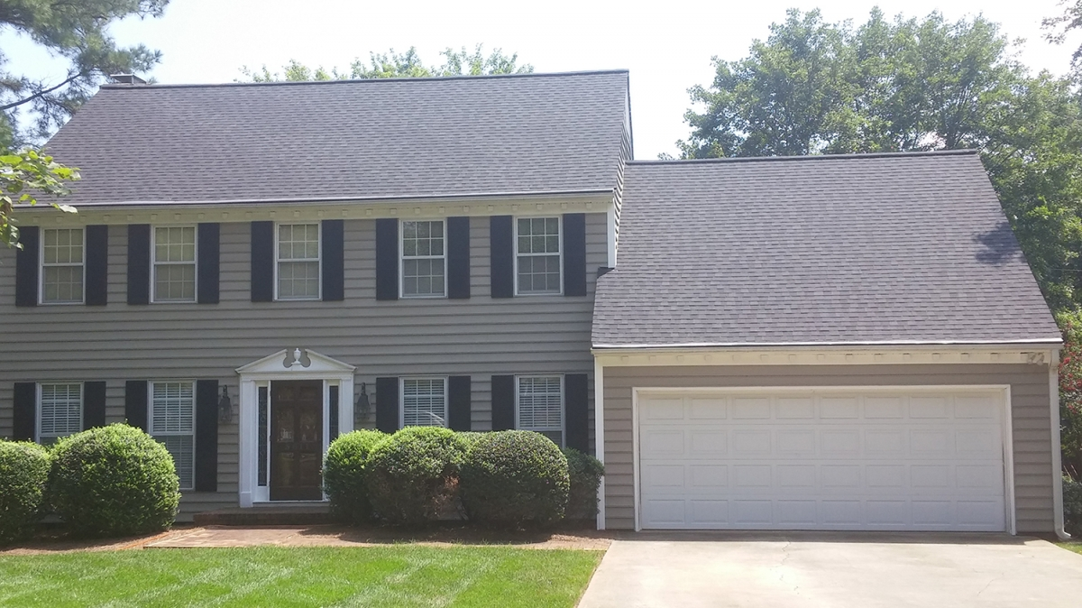 Greenlee Drive After Pictures Triad Roofing Services